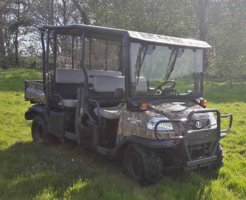 Kubota RTV1140XR Camo 2012 Utility Vehicle