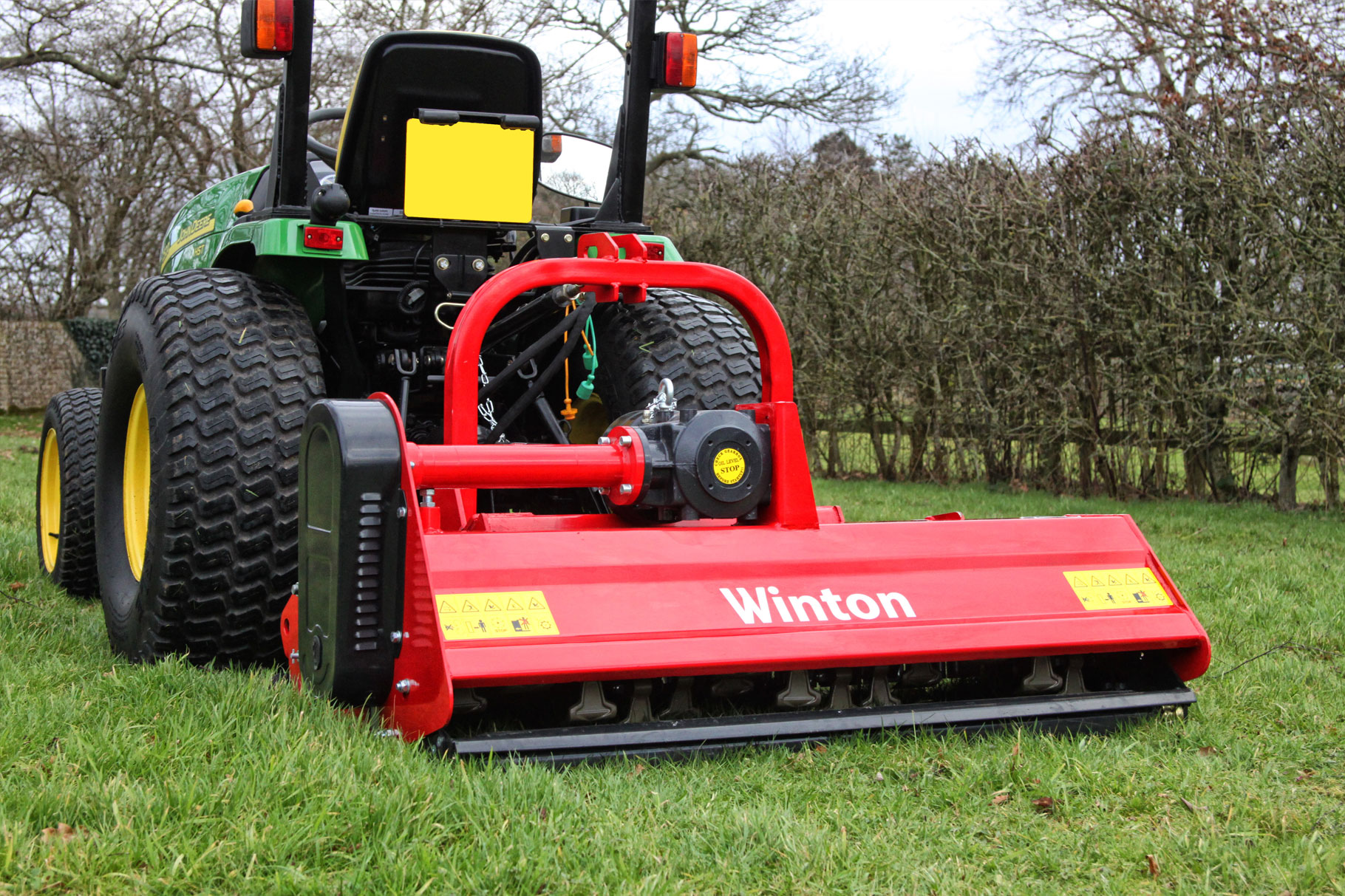 WINTON WHF200 Hydraulic-offset Flail Mower